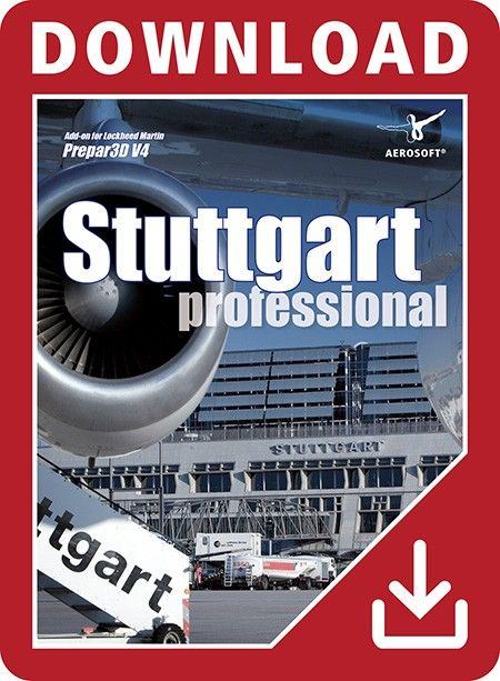 """AEROSOFT : German Airports - Stuttgart professional """"German Airports - Stuttgart professional"""" brings the international airport of the German state of Baden-Württemberg into the flight simulator Prepar3D V4. In good tradition, the award winning German Airports team and Peter Hiermeier provide this scenery of Stuttgart airport in a stunning quality.This add-on of Stuttgart airport represents the latest status of development of the real airport. The buildings, the layout of the runways and…"""