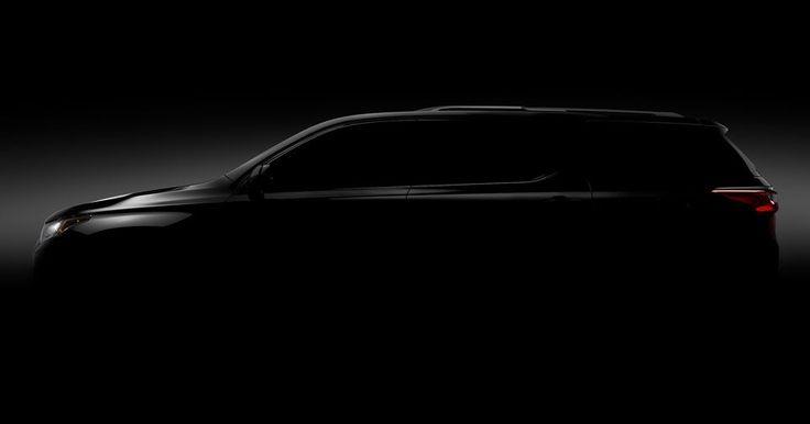2018 Chevrolet Traverse Teased Prior To Detroit Debut #Chevrolet #Chevrolet_Traverse