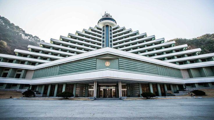 Hyangsan Hotel. North Korea modern architecture