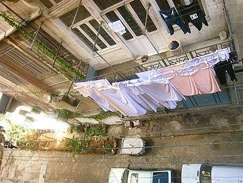 Clothes line, Tripoli, Northern Lebanon.