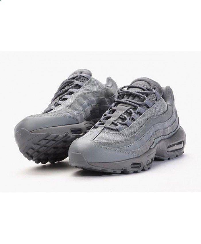 Mens Nike Air Max 95 Cool Grey Trainer twitter.com/...