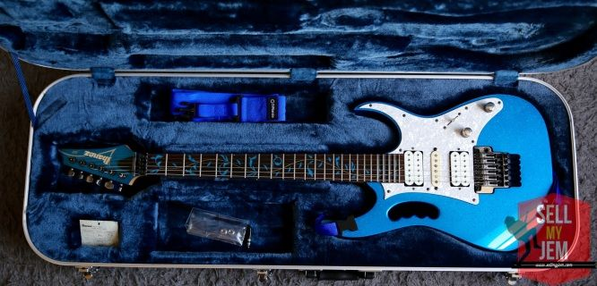 Ibanez jem 7VSBL in stunning condition!