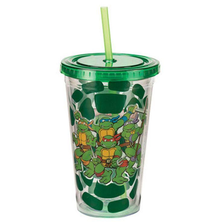 Teenage Mutant Ninja Turtles 18 oz Acrylic Travel Cup