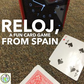 Reloj A Card Game from Spain