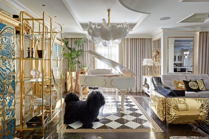 A Whimsical Luxury Interior Filled With Eye Candy By Mironova
