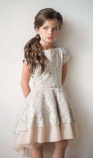 Joyfolie Champagne Etta Dress
