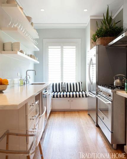 Best Beautiful Efficient Small Kitchens Kitchen Design 400 x 300