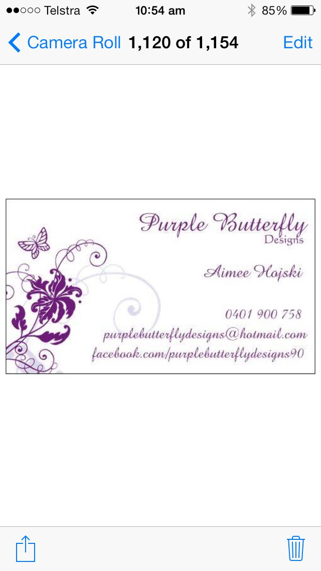 Purple Butterfly Designs  Visit:  https://m.facebook.com/purplebutterflydesigns90  http://instagram.com/purplebutterflydesigns