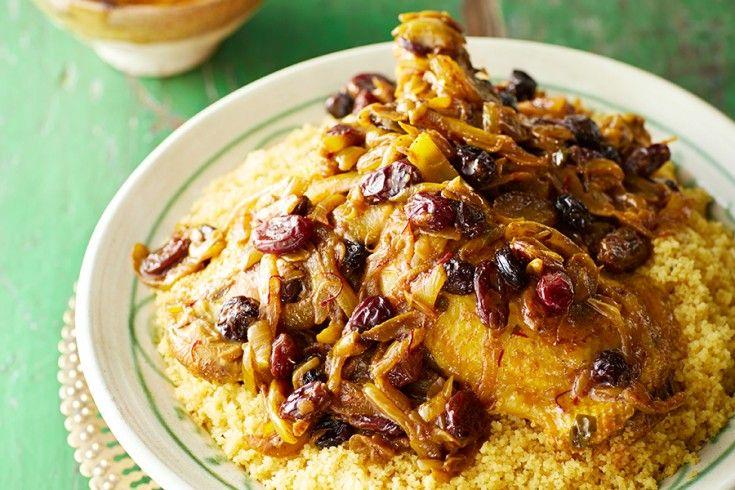 Goddelijke Marokkaanse zoet-hartige couscous met kip - Culy.nl