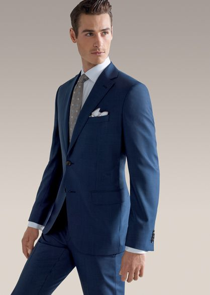 Jack Victor Suits Super 110's Italian Wool Modern Fit - Menswear | The Hub LTD