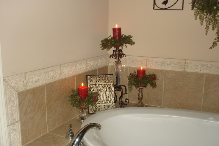 candles in one corner of garden tub for the home pinterest. Black Bedroom Furniture Sets. Home Design Ideas