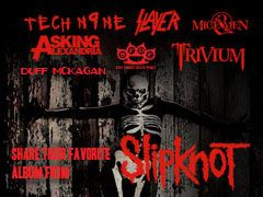 Favorite Slipknot Album By Slayer, Duff McKagan, Of Mice & Men, Tech N9ne, and more