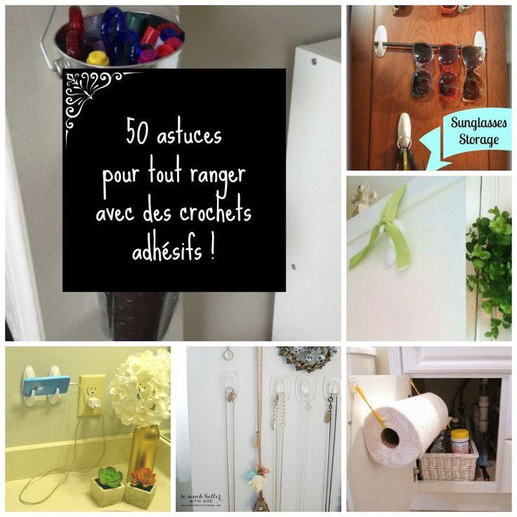 17 meilleures images propos de astuces sur pinterest - Rangement maison astuces ...