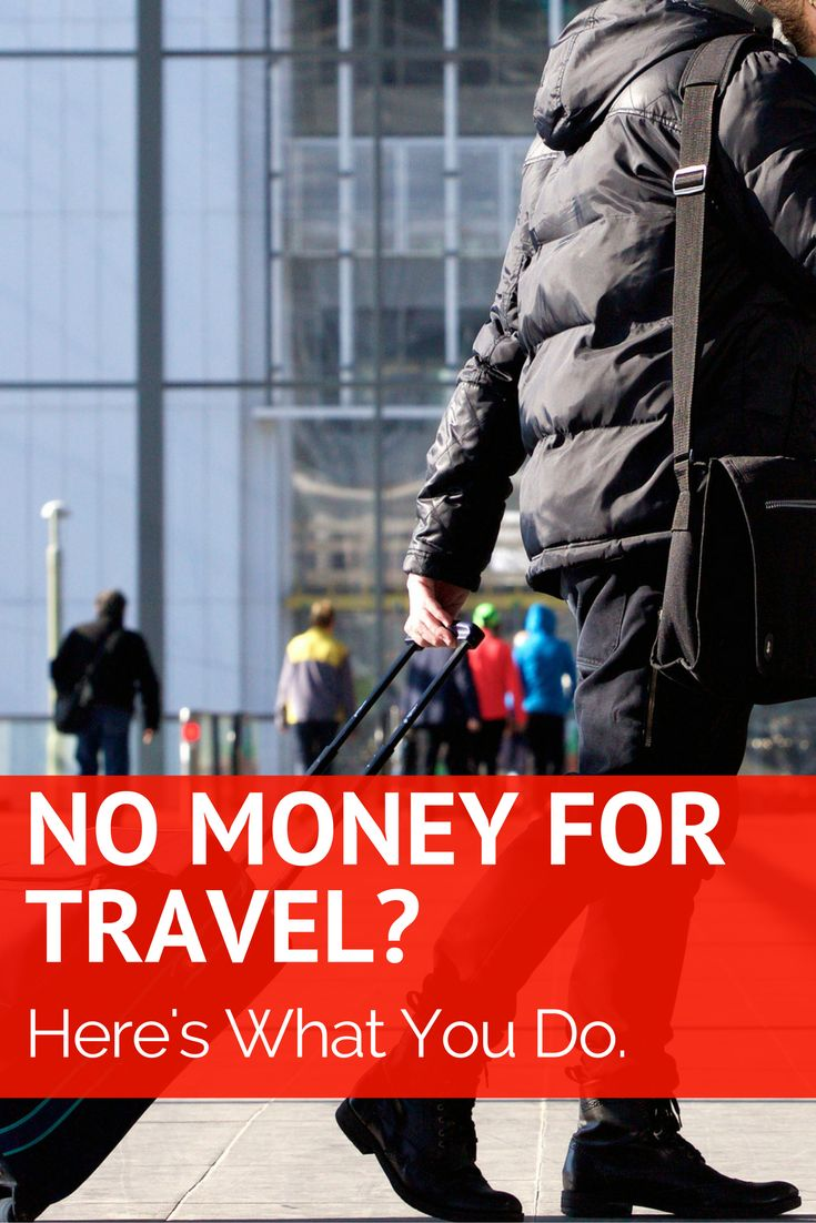 No Money to Travel? Here's What You Do. Need a vacation? Want to travel the world? Here's a guide to taking a trip when you have no money. It's great for solo travel. http://solotravelerblog.com/no-money-to-travel-heres-what-you-do/   cheap, travel, budget, budgettravel, solo, solotravel, travelalone, alone