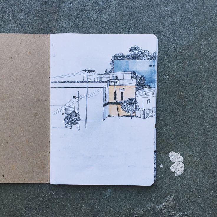 Sketchbook by Zara Asgher from Pakistan