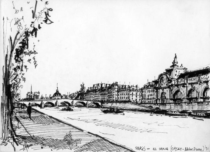 Museo de Orsay, Río Sena, Paris