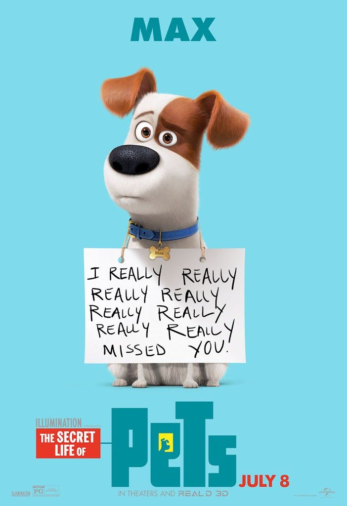 THE SECRET LIFE OF PETS movie poster No.7