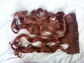 Loja Online atacado Mulheres Korea onda longas extensões de cabelo encaracolado o cabelo New perucas sintéticas tece # L04023 | Aliexpress Móvel
