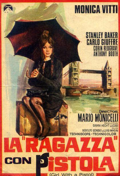 La ragazza con pistola, Mario Monicelli 1968