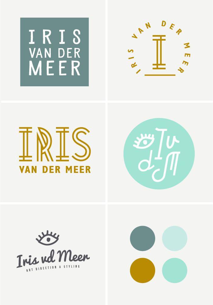 Logo design proces : brand design Iris   OCHER