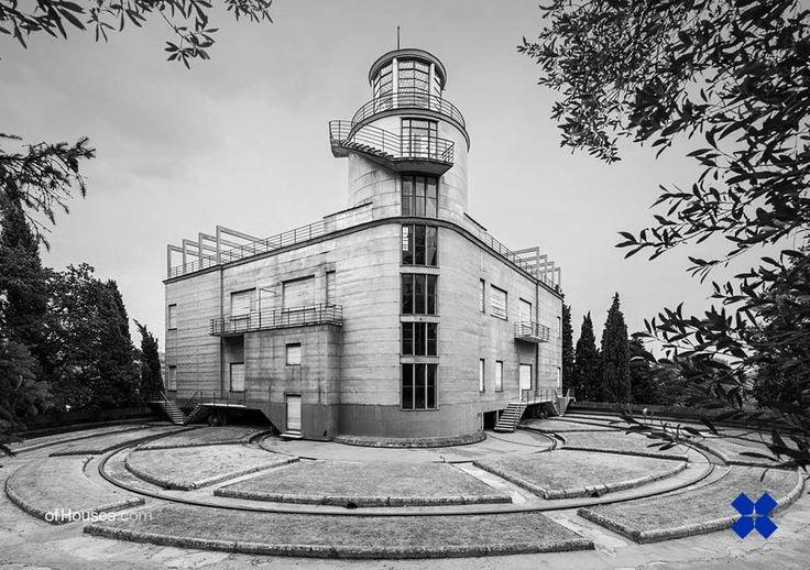 Angelo Invernizzi /// Villa Girasole /// Marcellise, Italy /// 1935