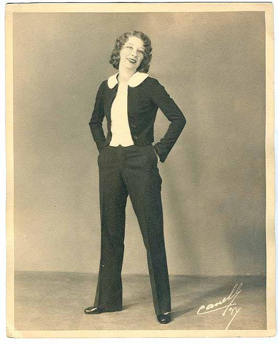 23 best images about Women in Pants 1920s-1930s on ...