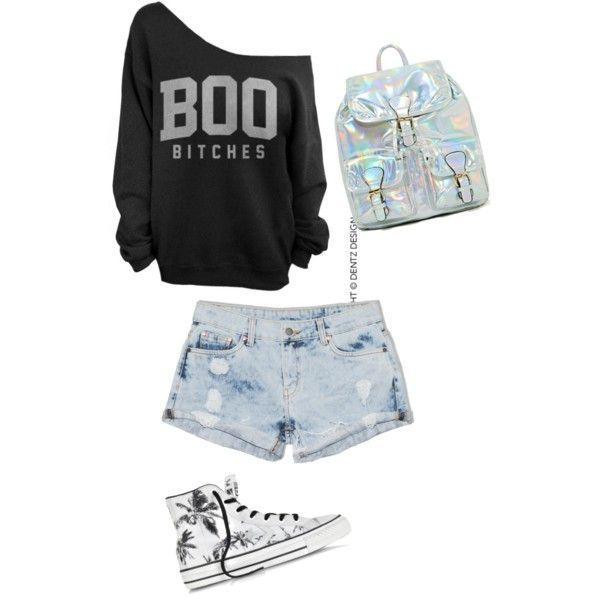 A fashion look from November 2014 featuring Dricoper shorts and Converse sneakers. Browse and shop related looks.
