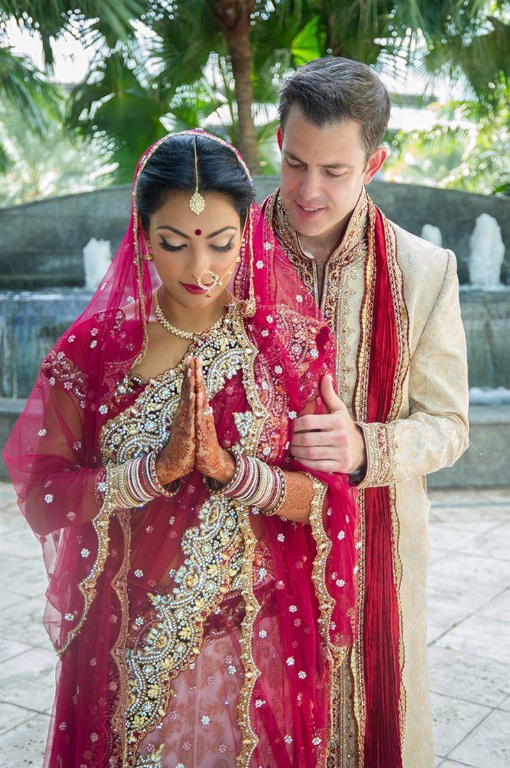 Vanita & Bryan's Indian Fusion Destination Wedding {Ft. Lauderdale, Florida}