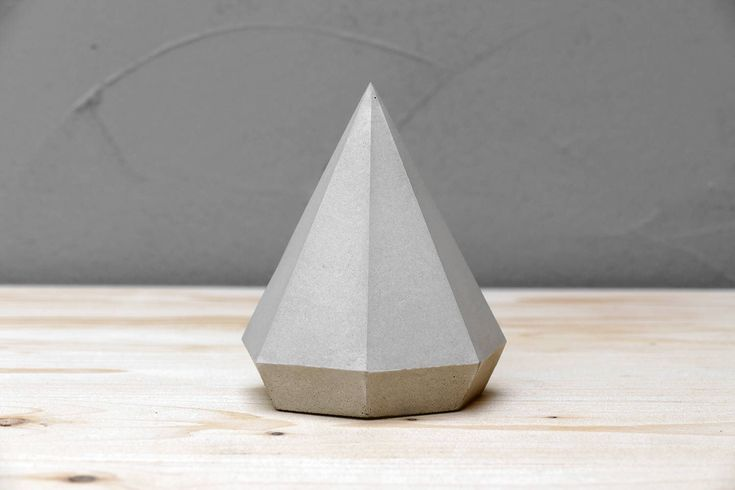 Paperweight, Concrete Diamond, Paperweights, Geometric Sculpture, Jewelry Stand, Modern Beton Diamant, Diamond, Geometric diamond, Geometric by IndustrialRepublic on Etsy https://www.etsy.com/listing/518254868/paperweight-concrete-diamond