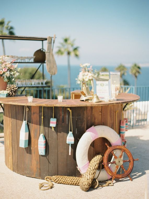 583 best images about themed weddings on pinterest harry for Nautical themed backyard