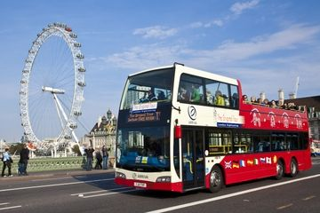 The Original London Sightseeing Tour: Hop-on Hop-off tour  Great way to see highlights of London $42pp