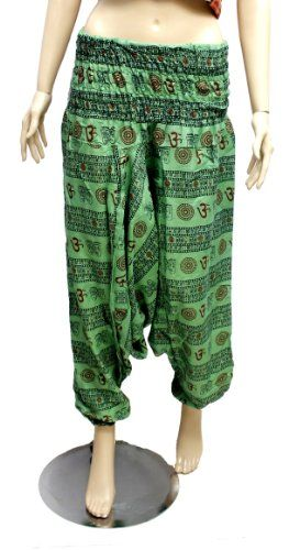 Womens Boho Hippie Yoga Bohemian Harem Baggy Pants From India Krishna Mart India http://www.amazon.com/dp/B00GZKI2VS/ref=cm_sw_r_pi_dp_PDvCvb0K933EH