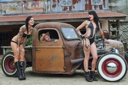 Google+/Rat Rod & Pin-Up Girl's