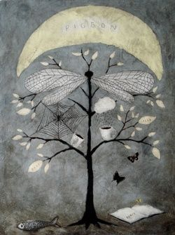 Pigeon Moon - Rebecca Rebouche