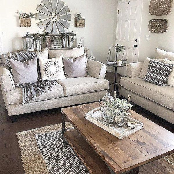 Farmhouse Decor Living Room With Images Furniture Placement