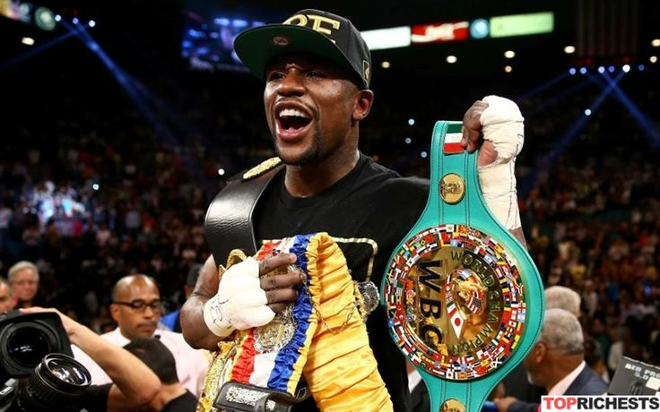 Mayweather net worth according to majority of sources is 403 million dollars. Floyd Mayweather is 39 years old successful boxer.