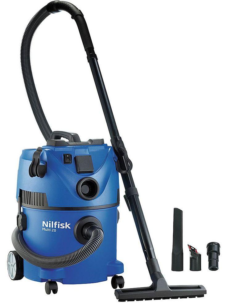 Nilfisk Multi 20T - Driftsäker och användarvänlig våtdammsugare