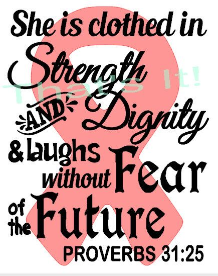 Strength, dignity, laughs without fear at the future