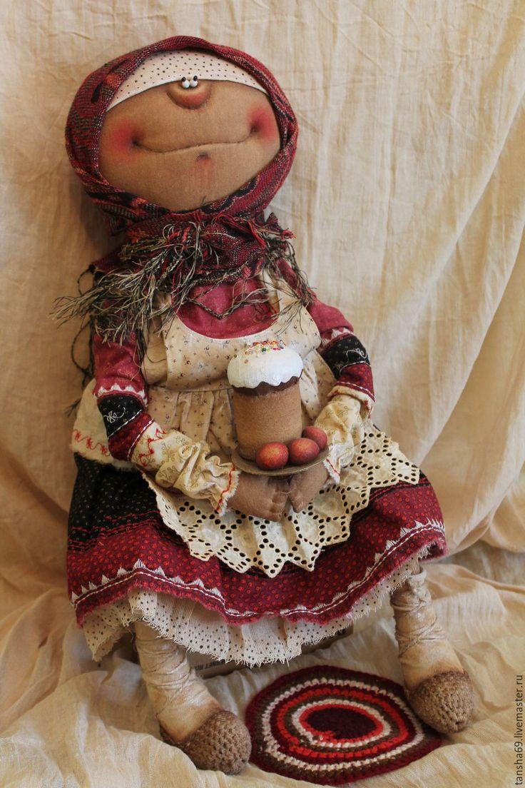 Купить Пасхальное Воскресенье - комбинированный, текстильная кукла, ароматизированная кукла, интерьерная кукла, Пасха