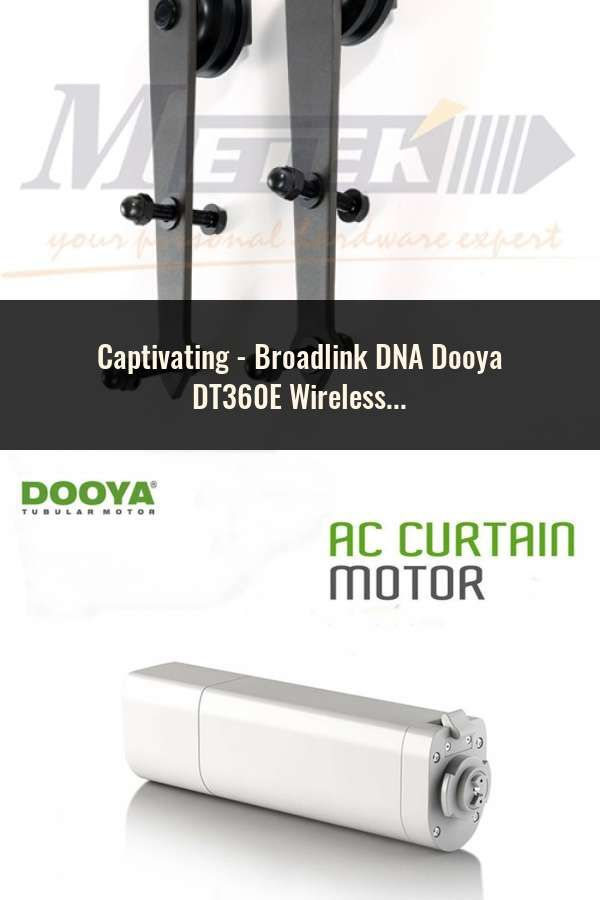 Broadlink Dna Dooya Dt360e Wireless Electric Curtain Motor Wifi
