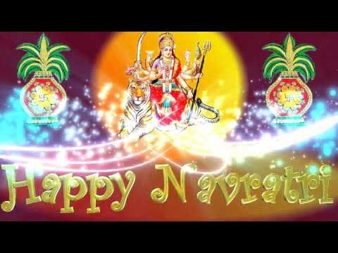 Happy Navratri 2016 Wishes,Quotes,HD Images,Greetings,Ecard,Animation,Messages,Whatsapp Video - YouTube