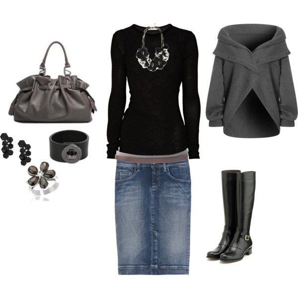 Gray and Black,