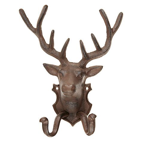 Buy Fallen Fruits Rusty Stag Hook Online at johnlewis.com