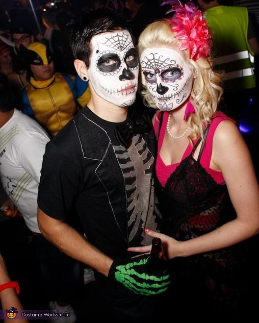 43 best Day of the dead images on Pinterest   Halloween makeup ...