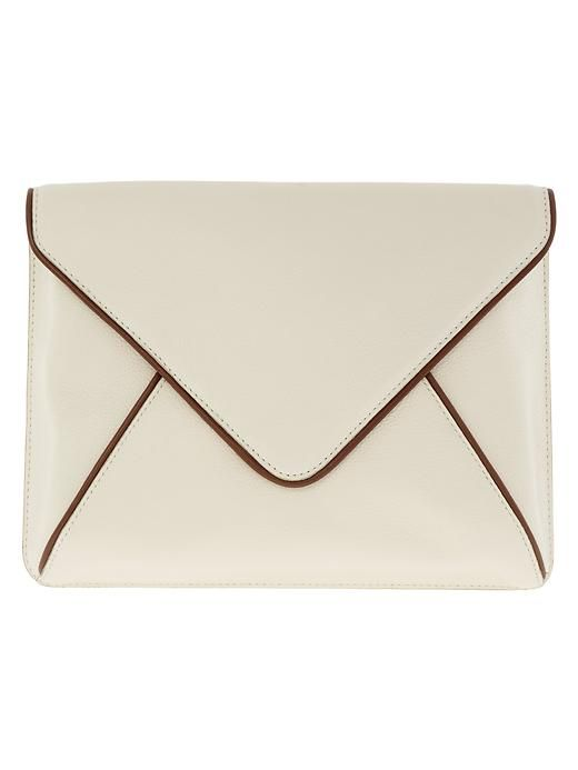 VIDA Leather Statement Clutch - ISSA LEATHER CLUTCH by VIDA kZDuY
