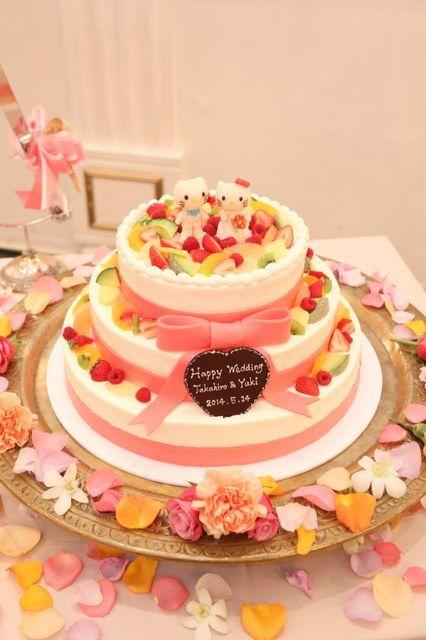 Arden Bliss(アーデンブリス)|結婚式場写真「味も見た目も良いと評判のアーデンブリスのウエディングケーキ♪」 【みんなのウェディング】