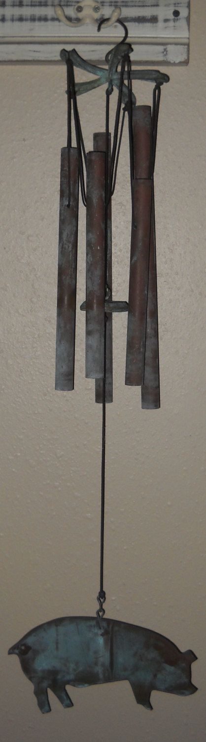 Mid-Century Wind Chimes - Vintage Chimes - Country - Rustic by Luv2Junk on Etsy