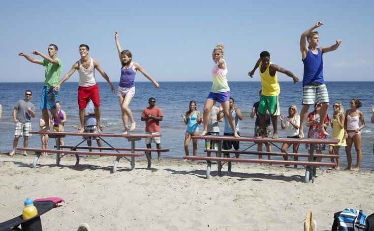 The Next Step at the beach! (I loved that episode)