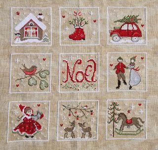 p'titescroixdech'nord: Nostalgie de Noël - Fleurs de Lin