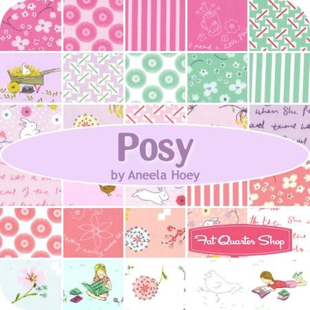 Posy Fat Quarter Bundle Aneela Hoey for Moda Fabrics - Fat Quarter Shop